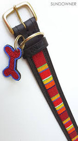 Sundowner Dog Collar from Kenya