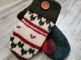 Woolly Moly Mittens / Sleigh Ride