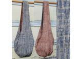 Veggie Dye Sling Reversible Bag/ Squares Blue / Rust