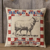 Pillow - Sheep Blue Hill Quality Feeds