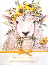 Sheep Flower Crown Apron