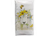 Sheep Flower Crown Towel