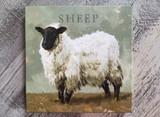 Pasture Sheep  Giclee Wall Art