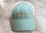 Farm Diggity Hat /Teal / Khaki