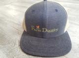 Farm Diggity Hat / Navy / Khaki/ Flat