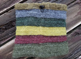 Peruvian Trading Co. Neck Warmer / Green Stripe