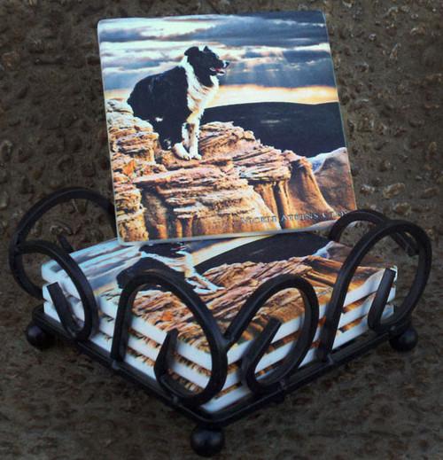 Border Guard /Sandstone Coasters