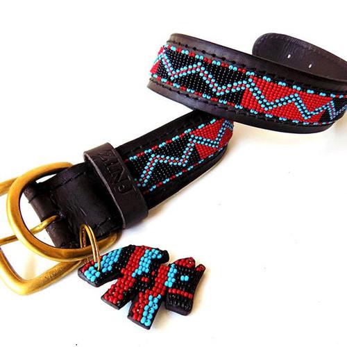 Bushman Dog Collar from kenya