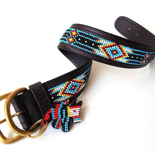 Santa Fe  Dog Collar from Kenya
