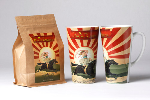 Farm Diggity  Coffee and Mug Set