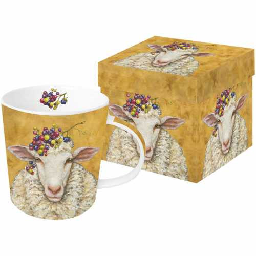 Vineyard Sheep Boxed Mug / Vicki Sawyer
