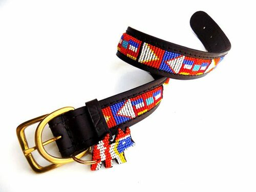 Markawet Dog Collar from Kenya