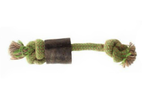 Aussie Naturals Horn Choy Dog Toys, Small, Green