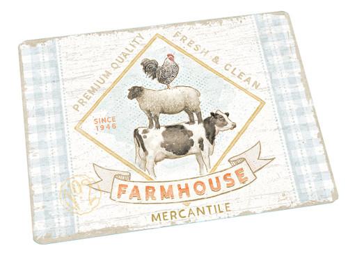 Farm house /Lang Cutting Board, Large