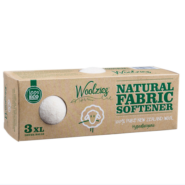Lasts for 1,000 loads. Natural Fabric Softener, hypoallergenic. Contains 3 XL Balls. 100% Eco Friendly. Softens & scents naturally.