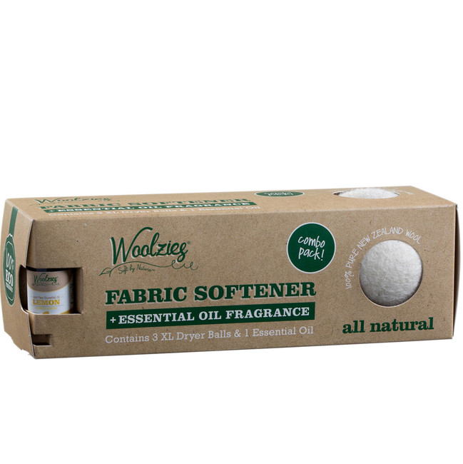 Lasts for 1,000 loads. Natural Fabric Softener, hypoallergenic. Contains 3 XL Balls. 100% Eco Friendly. Softens & scents naturally. 100% pure oil, soothing and calming lemon scent, fabric freshener & deodorizer.