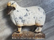 Folk Art Metal Work Lamb