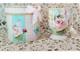 Mug Gift  Set  / Pink Rose Vintage