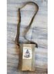 Military Tent  Crossbody Bag / Be Kind to Animals   / Vintage Addiction