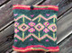 Peruvian Trading Co. Neck Warmer / Pink/Green