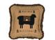 Heritage Farms Baa Baa Blessings Pillow 18x18