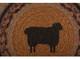 Heritage Farms Sheep Jute Trivet