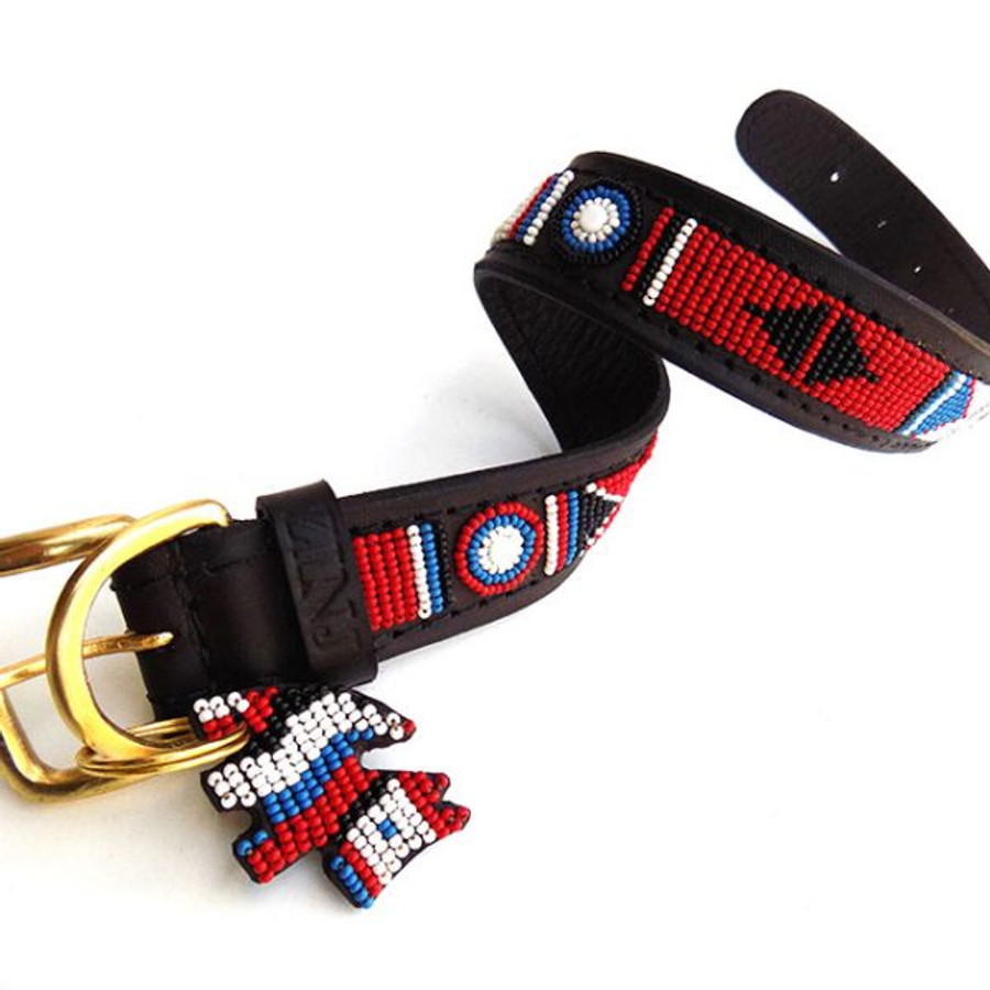 Akamba Dog Collar from Kenya