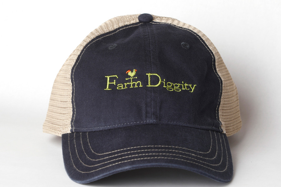 Farm Diggity Hat / Navy  /Khaki