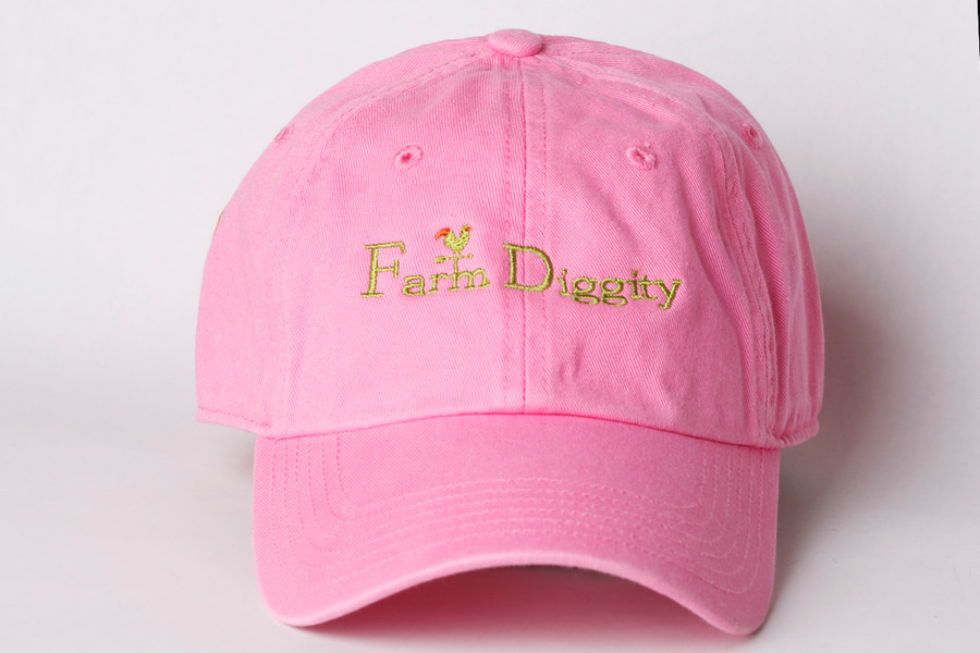 Farm Diggity Hat/ Pink