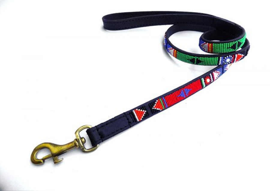 "Margoli Leash from Kenya  48""long 3/4 wide"
