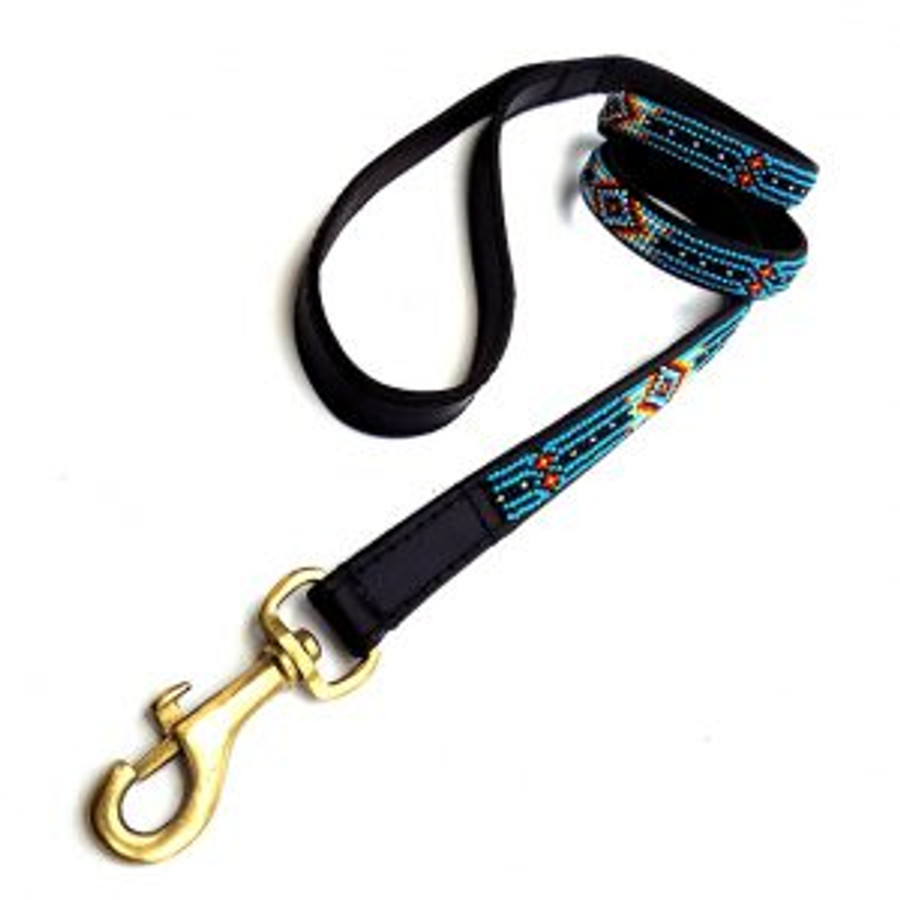 "Santa Fe  Leash from Kenya  48""long 3/4 wide"