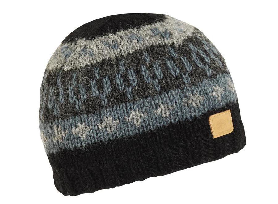 Kanan Hand Knit Beanie/ Onyx