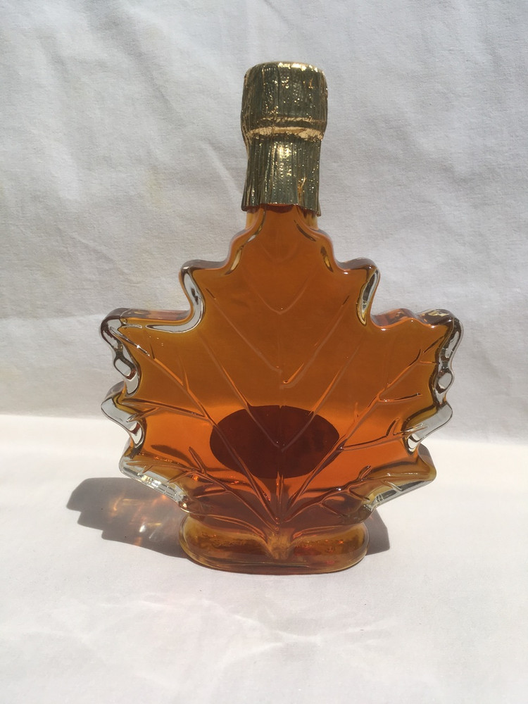 250 Ml Glass Leaf