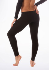 Bloch Footless Leggings Black #2. [Black]