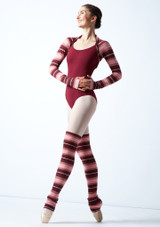 Move Dance Orchid PINKd Knit Dance Shrug Pink Front-1 [Pink]