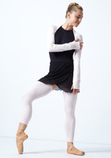 Move Dance Juliet Fine Knit Shrug Pink Front-1 [Pink]