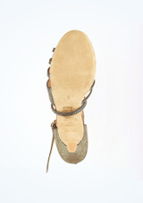 """Freed Lidia  Dance Shoe 2.5 Gold #3. [Gold]"""""""