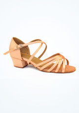 Roch Valley Bella Ballroom Shoe 1.2 Tan. [Tan]""
