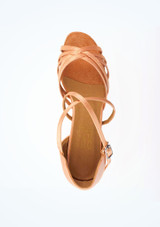 Roch Valley Bella Ballroom Shoe 1.2 Tan #2. [Tan]""