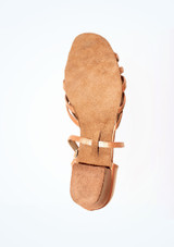 Roch Valley Bella Ballroom Shoe 1.2 Tan #3. [Tan]""