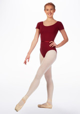 Move Dance Penny Leotard Red front #2. [Red]