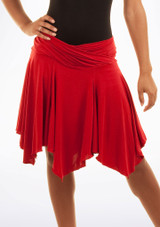 Move Lucia Latin Skirt Red. [Red]