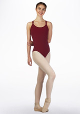 Move Brook Leotard NEW Blue back. [Red]