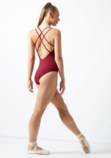 Move Brook Leotard NEW Purple back. [Red]