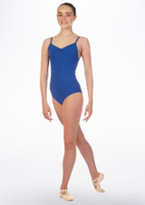 Move April Leotard Blue front. [Blue]