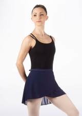 Tappers & Pointers Wrap Dance Skirt Blue. [Blue]