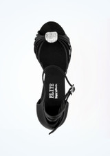 "Rummos Elite Nina Salsa & Tango Shoe 3 Black #2. [Black]"""