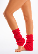 Ankle Warmers Red [Red]