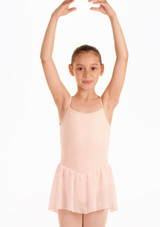 Bloch Blossom Skirted Leotard Pink. [Pink]