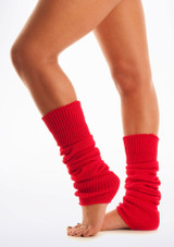 Legwarmers Red. [Red]